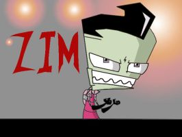 Zim is evil by invaderzimlover12