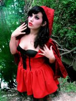 little red ridding hood by BambiBlast