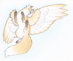 That Winged Fox by Bulbiekins