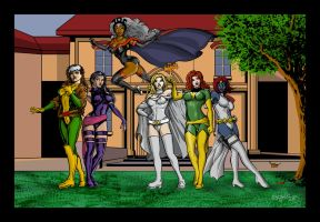 X-Ladies by ChrisMcJunkin