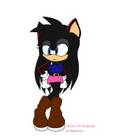 .:RQ:.Daismy The Hedgehog by magicgirl567