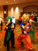 Sync and Goku(AFest 2014 GIF) by Hound-02