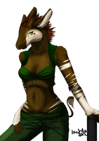 Awesome Okapi by Ischta