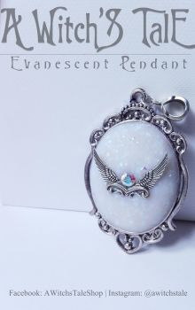 Evanescent Pendant by A Witch's Tale by LaceWingedSaby