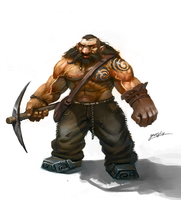 Dwarf farmer by GansOne89