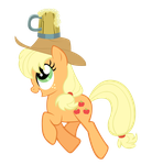 Applejack Trot by iRaincloud