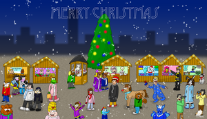 Christmas 2012 by LaptopGeek