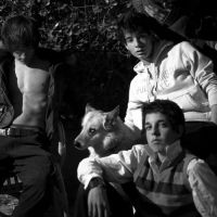 boys and dog by miguelanxo