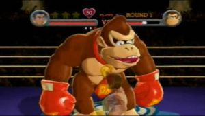 DK Punched by MonsterMan25