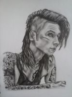 Andy Biersack by Romii-oddartist