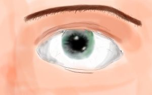 Realism Eye Attempt by imjoey8