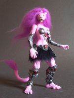 clawdeen custom figure by nightwing1975