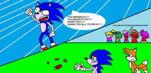 Sonic's remorse... by scifiguy9000