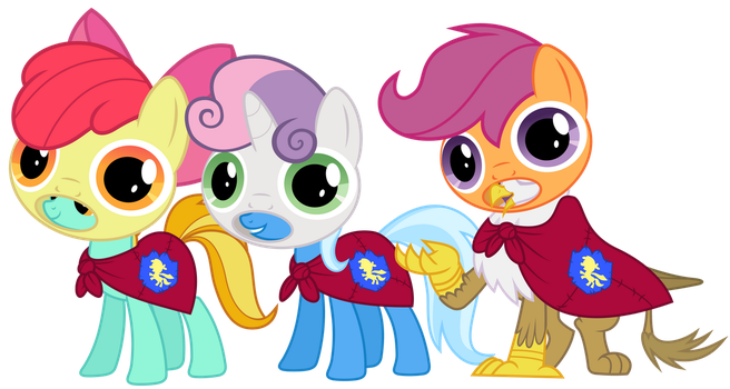 We are the Cutie Mark Crusaders! by Magister39