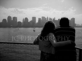 NYC couple by JC-Photography