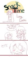 Snack Time: Long Locks by Chibi-Works