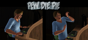 The Sims 3: PewDiePie by Tx-Slade-xT