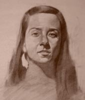 Portrait Life Drawing 11 by faxtar