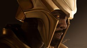 Heimdall by AnnaCStansfield
