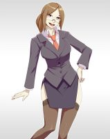 Businessgirl by Materclaws