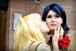 Kiss of the devil by Ravelcoplay