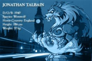 Jon Talbain Club ID by ElectricDawgy