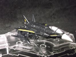 Decepticon Hatchet Jet mode by forever-at-peace