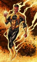Sinestro - Pask colors by SpiderGuile