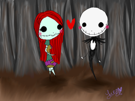 Jack and Sally by lunalove101