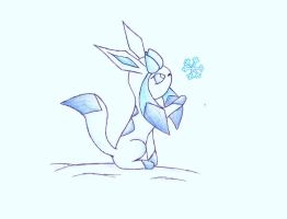 Glaceon's Snowflake by GameMaster15