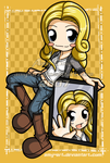 Niki and Jessica - Heroes by amy-art