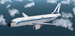Retrojets 1 Air France by agnott