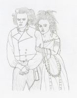 Sweeney Todd and Mrs. Lovett by KyleStyle26
