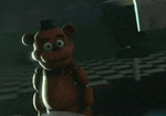 Scared Cute Mini Freddy GIF by gold94chica