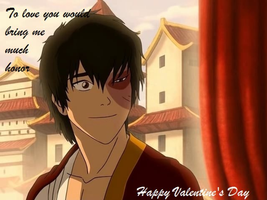 Zuko Wishes You a Happy Valentine's Day by AlicaMoreau