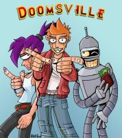 Futurama- Doomsville Pitch by femjesse