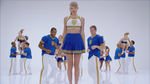 Taylor Swift Giant Cheerleader by Cloverfield12