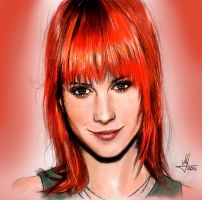 Hayley Williams by AndWhatArt
