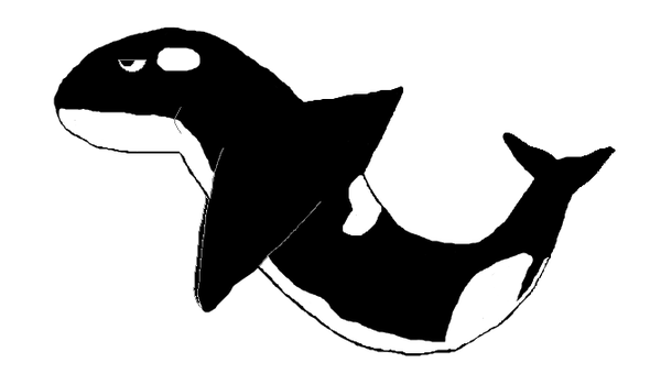 OLD ART- Orca by OrcaWhatever
