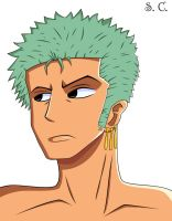 Zoro by Barriss-Offee
