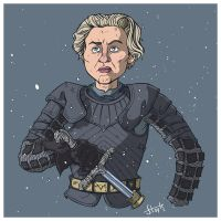 Brienne Of Tarth by stayte-of-the-art