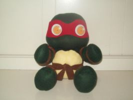 Chibi Raph Plush by animelover2day