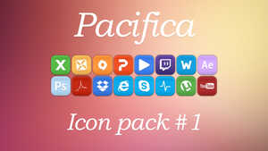 Pacifica Icon Pack #1 by GeeaR