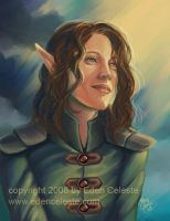 Elven Cleric by edenceleste