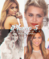 Miley Cyrus iPhone 5 Wallpapers by teamdiall