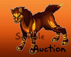 Auction: Phen Feng SOLD by SkulldogAdopts