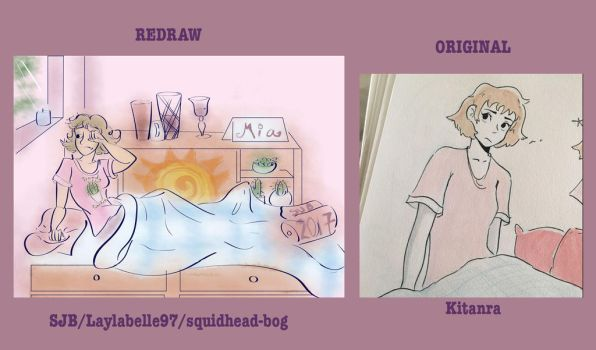 Redraw AT Kitanra Side by Side by Laylabelle97