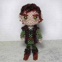 Beaded doll: Hiccup (How To Train Your Dragon) by crafty-maika