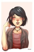 Miraculous - Marinette with shorter hair by Mind3ll