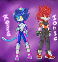 2013: Ionic and Rosie by RX-BlackHowling